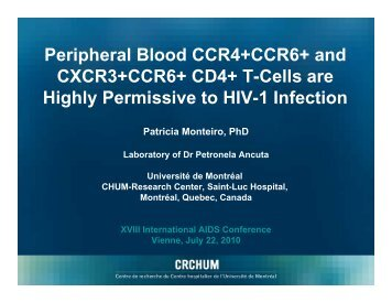 Peripheral Blood CCR4+CCR6+ and CXCR3+CCR6+ CD4+ T-Cells ...
