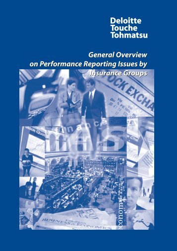 General Overview on Performance Reporting Issues by ... - IAS Plus