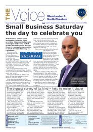 Small Business Saturday the day to celebrate you THE