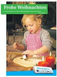 Frohe Weihnachten - Wochenspiegel Brandenburg