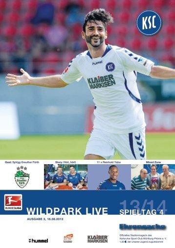 Stadionzeitung 4. Spieltag (KSC - Greuther Fürth) - Karlsruher SC