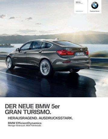 5er Gran Turismo Katalog - BMW Deutschland