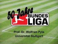 Prof. Dr. Wolfram Pyta Universität Stuttgart - Stiftung Demokratie ...