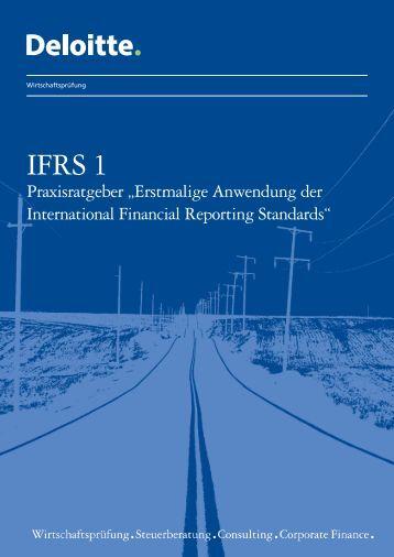 IFRS 1 Praxisratgeber - IAS Plus