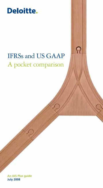 comparison of ifrss and us gaap essay Convergence of ifrs with indian gaap as tool accounting essay  using either ifrs or us gaap by  with convergence of ifrs with indian gaap has received.