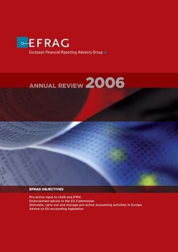 ANNUAL REVIEW 2006 - IAS Plus