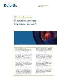 IFRS fokussiert Finanzinstrumente – Erwartete Verluste - IAS Plus