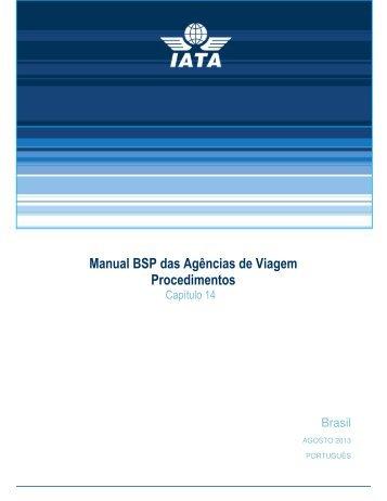 Manual BSP das Agências de Viagem Procedimentos - IATA