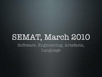 software artefact