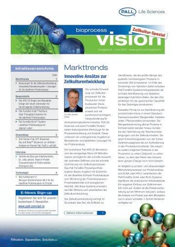 vision - Pall Corporation