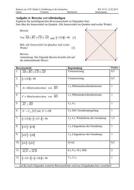Musterlösung der Klausur WS_12/13