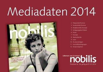 Mediadaten nobilis - Schlütersche Verlagsgesellschaft