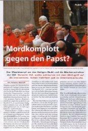 gegen den Papst? - deutschelobby