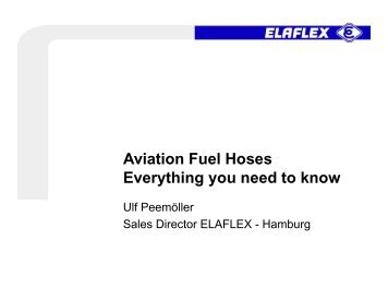 Aviation Fuel Hoses Everything you need to know - IATA