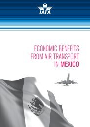 ECONOMIC BENEFITS FROM AIR TRANSPORT IN MEXICO - IATA