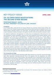 us / eu open skies negotiations - IATA