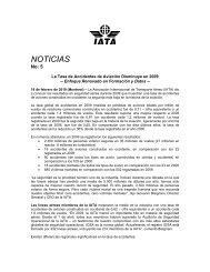 NOTICIAS - IATA