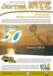Réveillon dá início às comemorações - Iate Clube de Brasília