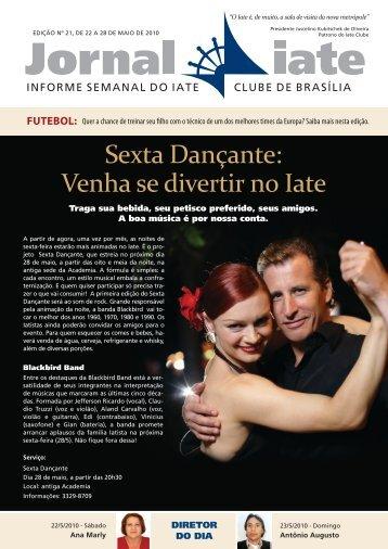 jornal iate - edicao 21.indd - Iate Clube de Brasília