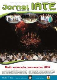 Muita animação para receber 2009 - Iate Clube de Brasília