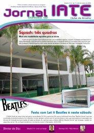 Squash: três quadras - Iate Clube de Brasília