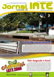 Canal de águas pluviais - Iate Clube de Brasília