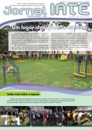 Um lugar ideal para se exercitar - Iate Clube de Brasília