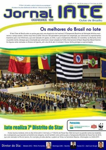 Os melhores do Brasil no Iate - Iate Clube de Brasília