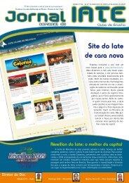 Site do Iate de cara nova - Iate Clube de Brasília