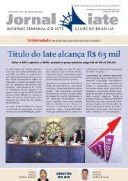 Edição 27.indd - Iate Clube de Brasília