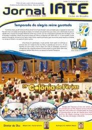 Temporada da alegria reúne garotada - Iate Clube de Brasília