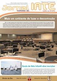 Mais um ambiente de lazer e descontração - Iate Clube de Brasília