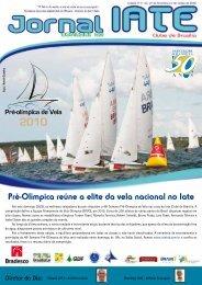 Pré-Olímpica reúne a elite da vela nacional no Iate - Iate Clube de ...