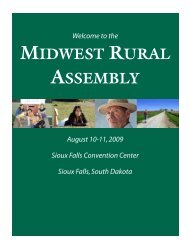 midwest rural assembly - Institute for Agriculture and Trade Policy