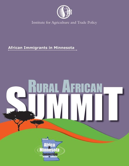 Africa & Minnesota - Institute for Agriculture and Trade Policy