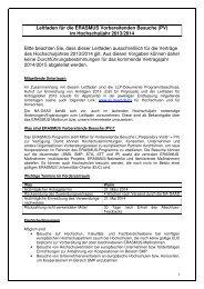 PV-Leitfaden 2013/2014 - eu-DAAD