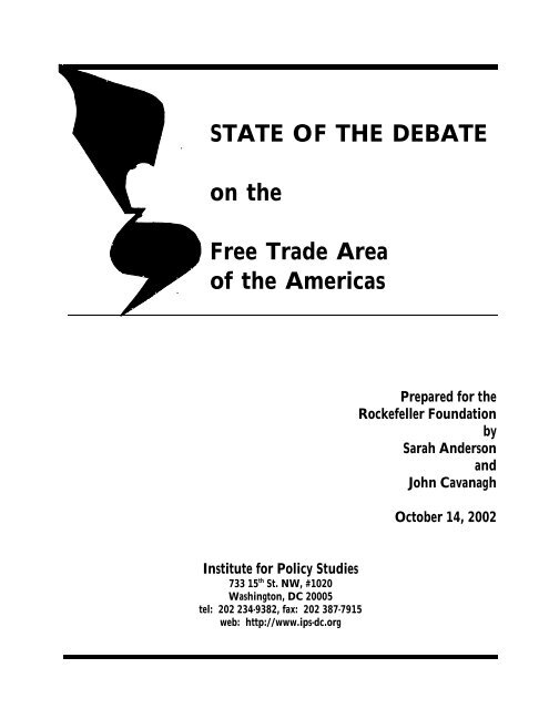 Download this document - Institute for Agriculture and Trade Policy