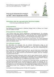 Projektorganisation - Denkmalpflege Baden-Württemberg