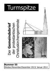 Turmspitze - Evangelische Kirche der Pfalz