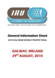 GIS - International Association of Ultra Runners