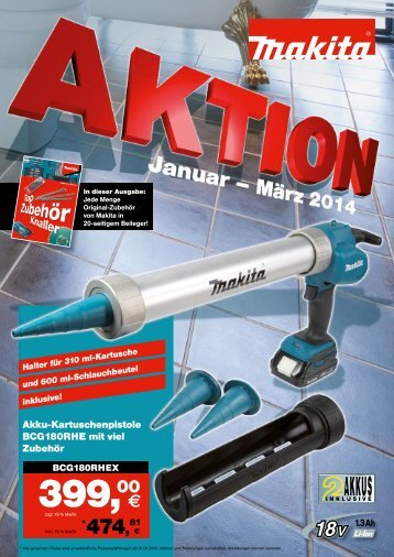 Makita Aktion 01-03.2014