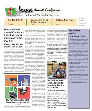 to view - Iowa Annual Conference of The United Methodist Church