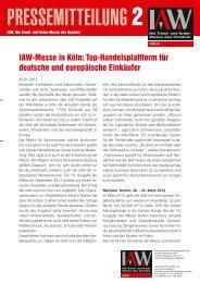 IAW-Messe in Köln: Top-Handelsplattform für deutsche und ...