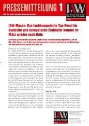 Download als PDF Dokument - IAW Messe