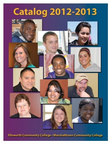 2012-2013 Catalog - Iowa Valley Community College District