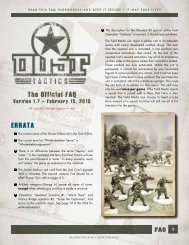 Dust Tactics FAQ, low res - Fantasy Flight Games