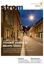 Strom Magazin 4/2013 - EBL