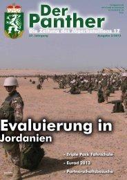 Jordanien - Österreichs Bundesheer