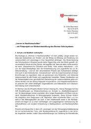 Lernen in Nachbarschaften - am Institut Arbeit und Wirtschaft ...