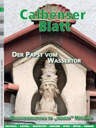 DER PAPST VOM WASSERTOR - Grafisches Centrum Cuno